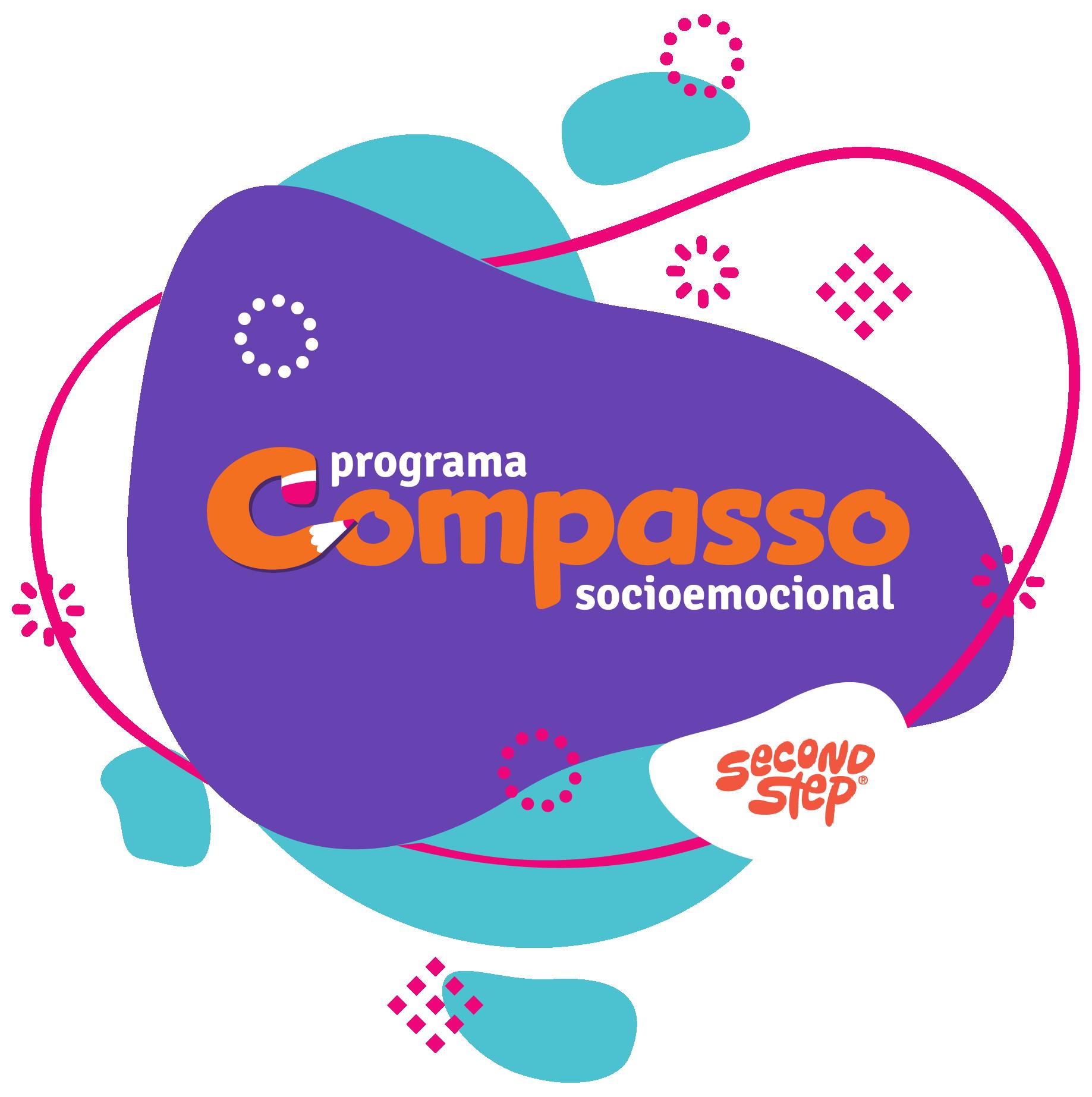 Logo Compasso Socioemocional e SecondStep